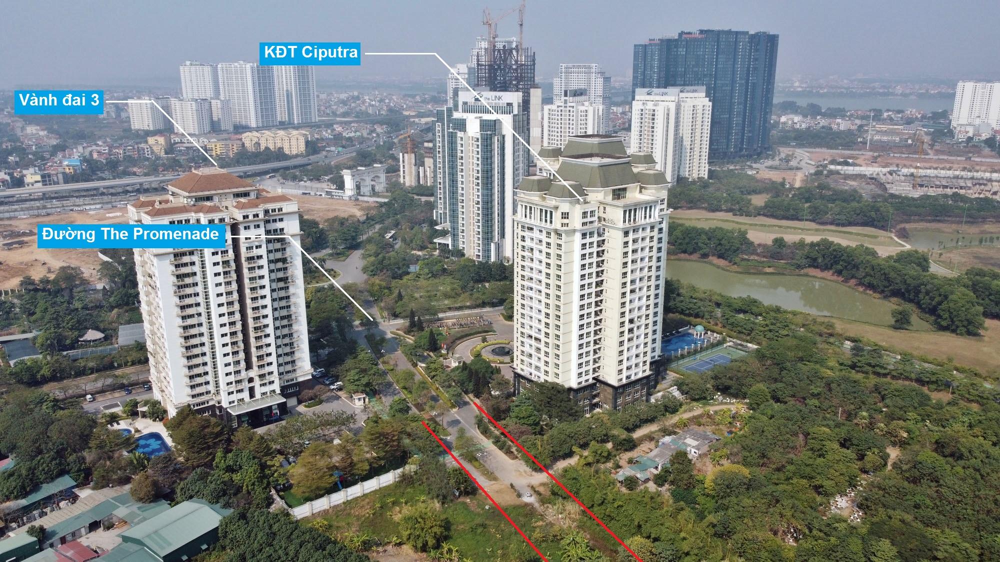 Ba đường sẽ mở theo qui hoạch ở phường Xuân Đỉnh, Bắc Từ Liêm, Hà Nội (phần 2) - Ảnh 3.