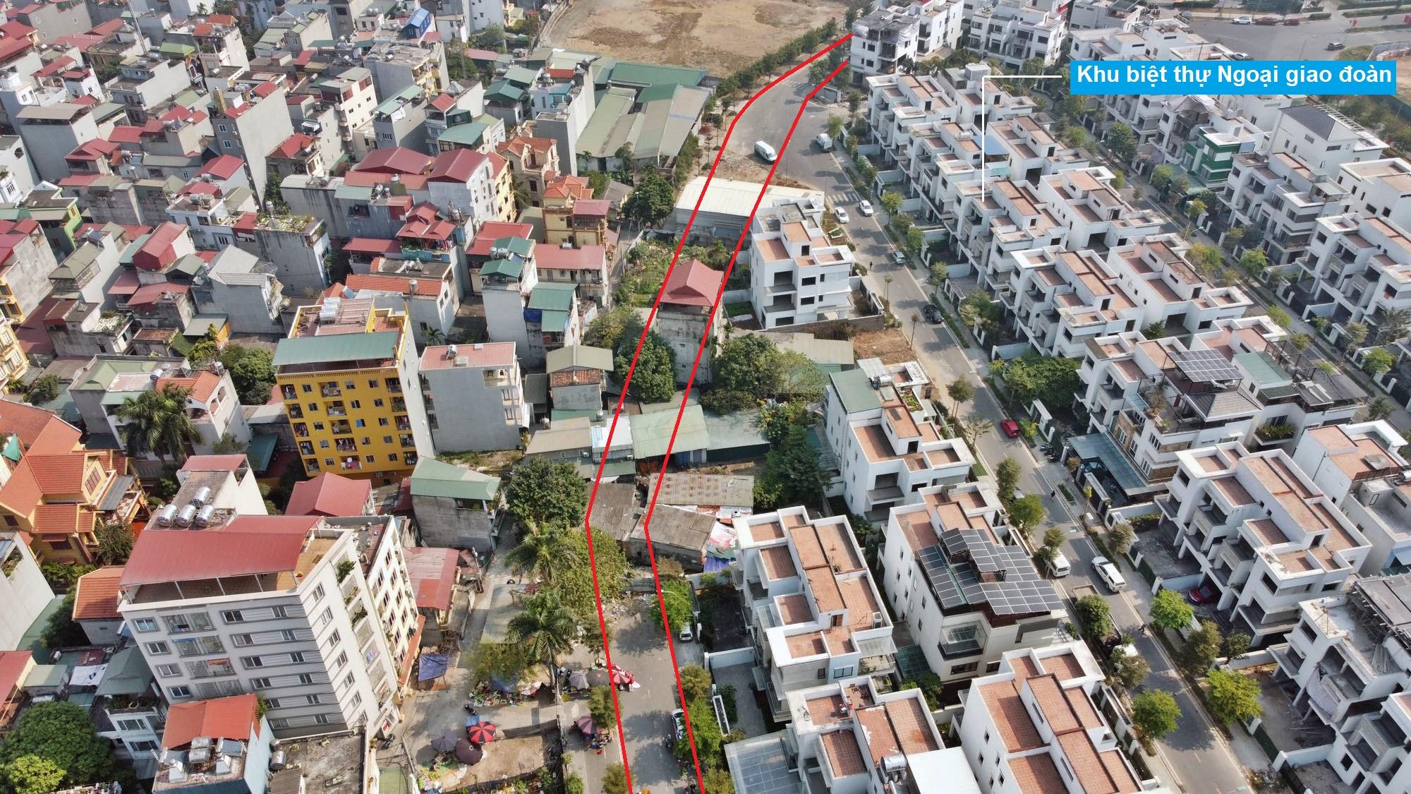 Ba đường sẽ mở theo qui hoạch ở phường Xuân Tảo, Bắc Từ Liêm, Hà Nội (phần 2) - Ảnh 4.