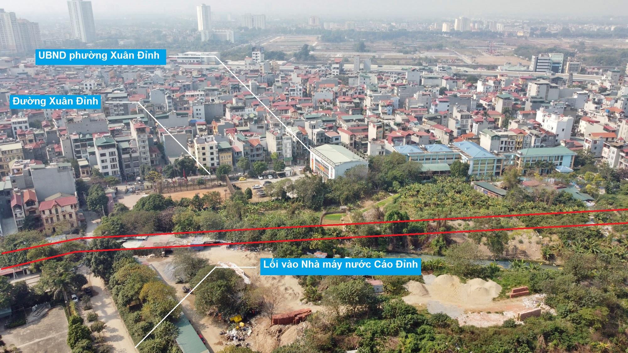 Ba đường sẽ mở theo qui hoạch ở phường Xuân Đỉnh, Bắc Từ Liêm, Hà Nội (phần 2) - Ảnh 8.