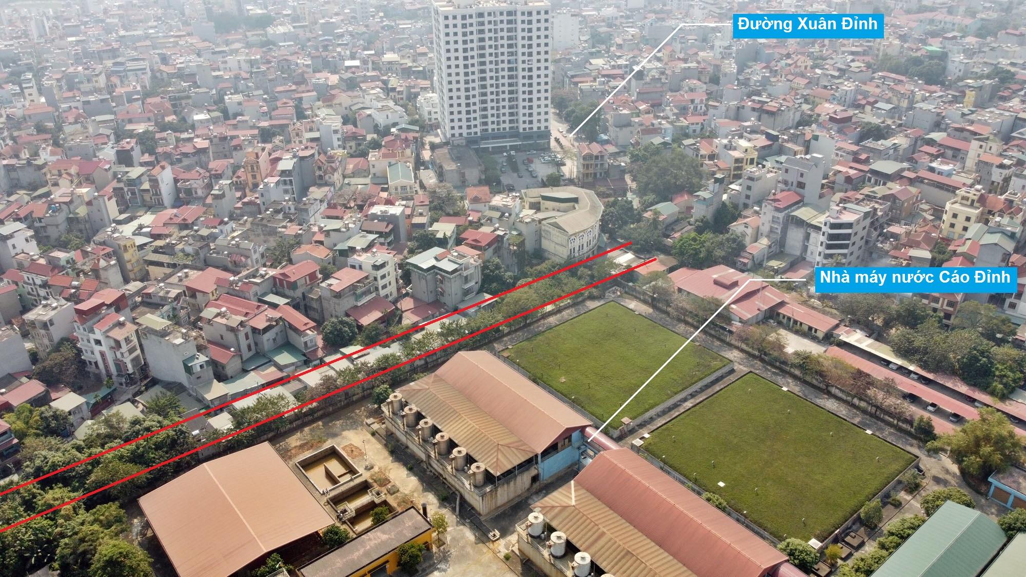 Ba đường sẽ mở theo qui hoạch ở phường Xuân Đỉnh, Bắc Từ Liêm, Hà Nội (phần 2) - Ảnh 12.