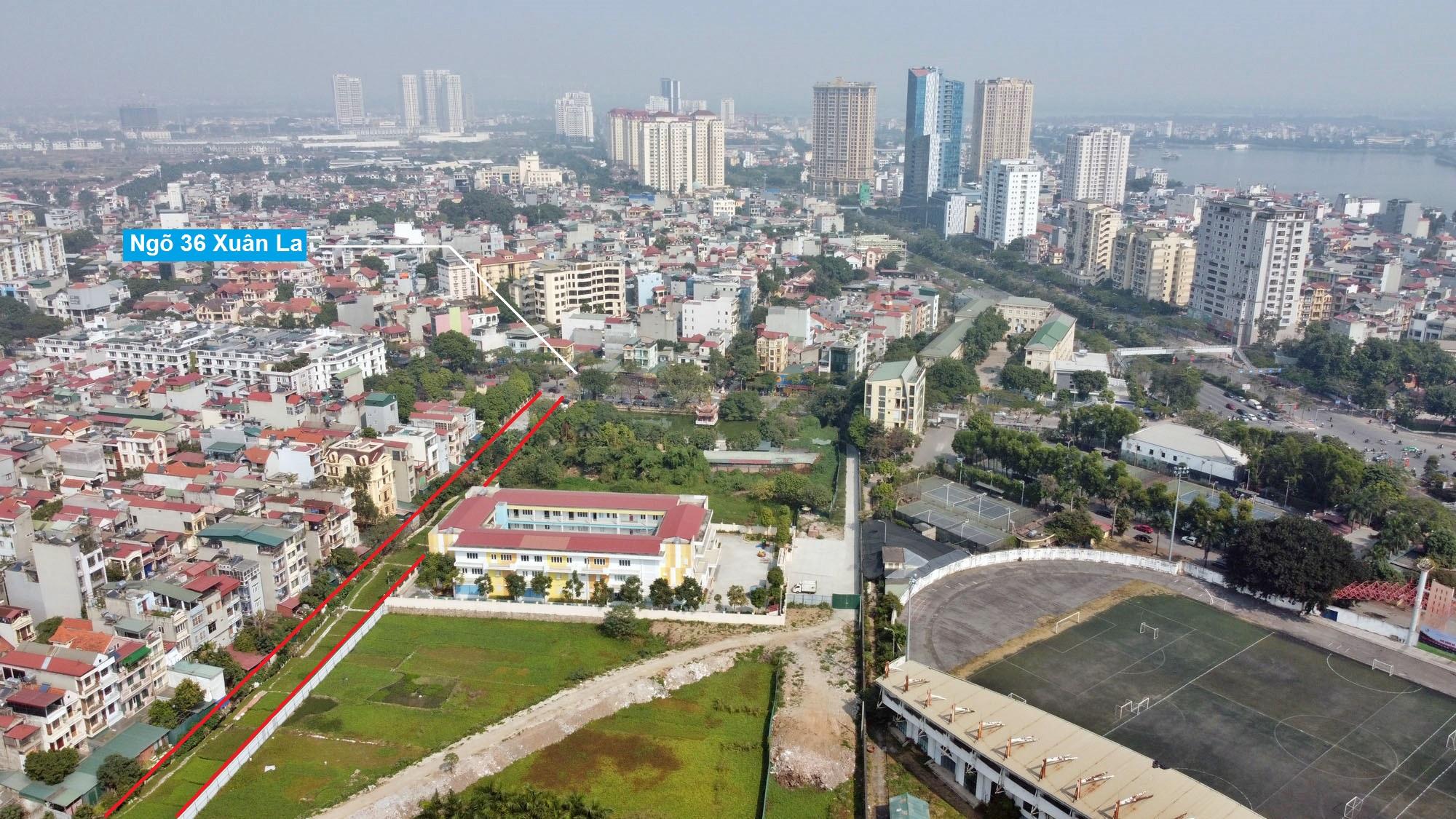 Ba đường sẽ mở theo qui hoạch ở phường Xuân Tảo, Bắc Từ Liêm, Hà Nội (phần 2) - Ảnh 12.