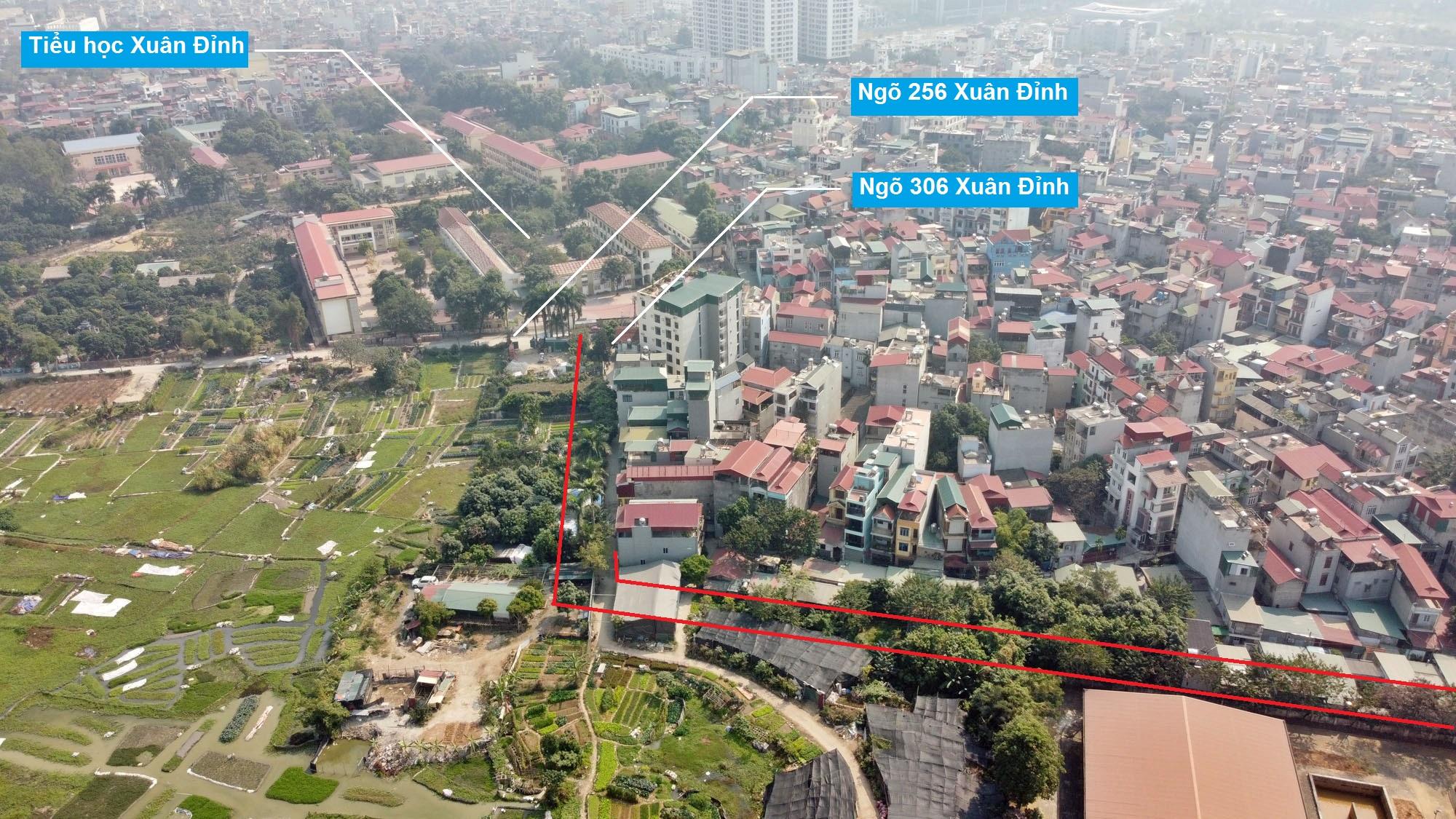 Ba đường sẽ mở theo qui hoạch ở phường Xuân Đỉnh, Bắc Từ Liêm, Hà Nội (phần 2) - Ảnh 14.