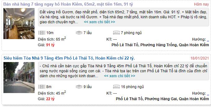 Giá đất phố Lê Thái Tổ, Hoàn Kiếm, Hà Nội - Ảnh 4.