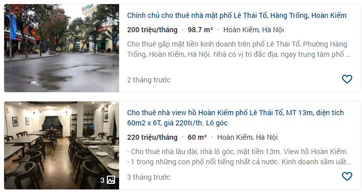 Giá đất phố Lê Thái Tổ, Hoàn Kiếm, Hà Nội - Ảnh 6.