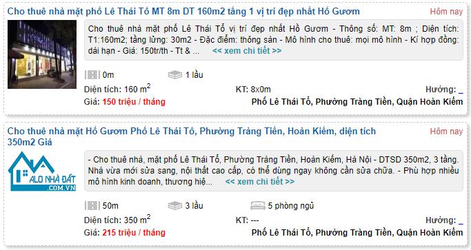 Giá đất phố Lê Thái Tổ, Hoàn Kiếm, Hà Nội - Ảnh 5.