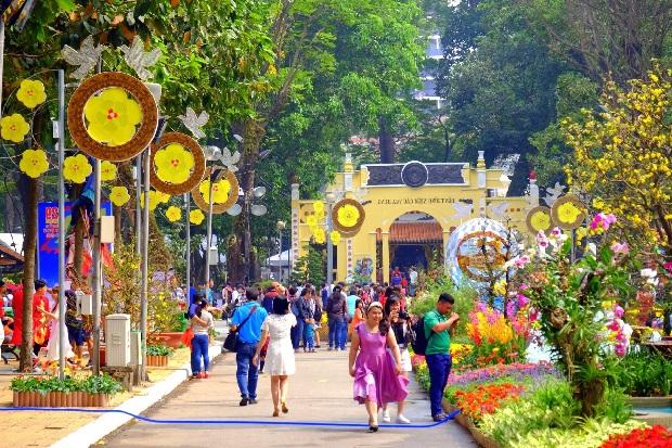 Khám phá những địa điểm vui chơi Tết Nguyên đán 2021 ở Sài Gòn 2021 - Ảnh 6.