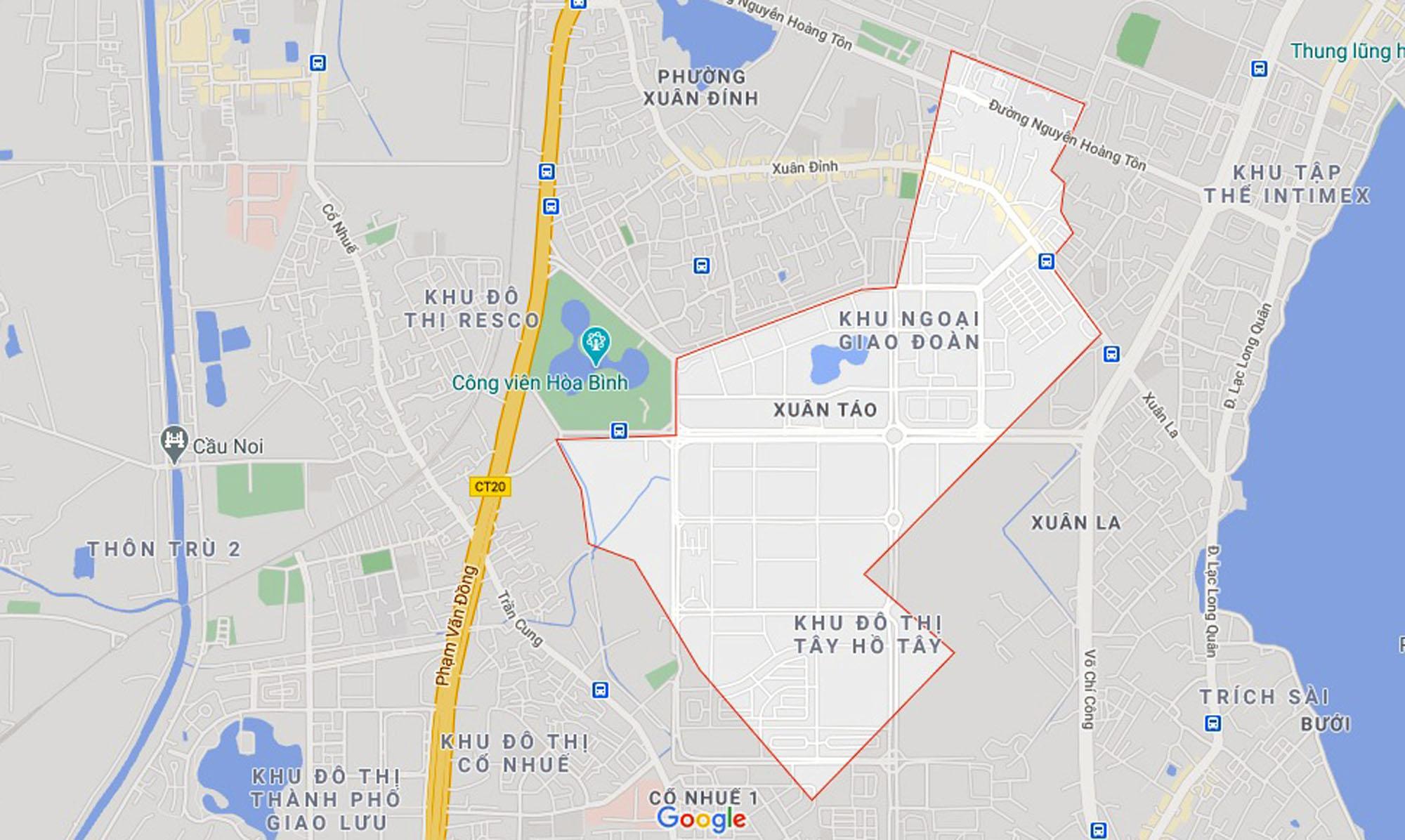 Ba đường sẽ mở theo qui hoạch ở phường Xuân Tảo, Bắc Từ Liêm, Hà Nội (phần 2) - Ảnh 1.