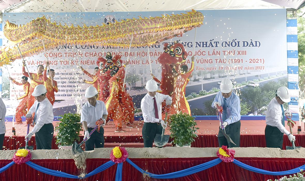 Gần 900 tỷ đồng xây dựng tuyến đường trục trung tâm TP Vũng Tàu - Ảnh 1.