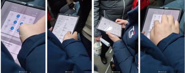 Lộ diện những hình ảnh chiếc điện thoại màn hình gập đầu tiên của Xiaomi - Ảnh 1.