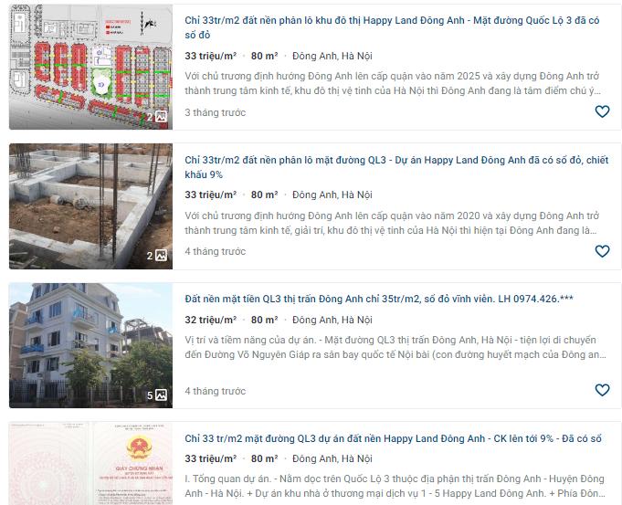 Giá đất Quốc lộ 3, Thị trấn Đông Anh, Hà Nội: Cao nhất hơn 14 triệu đồng - Ảnh 4.