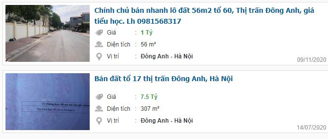 Giá đất Quốc lộ 3, Thị trấn Đông Anh, Hà Nội: Cao nhất hơn 14 triệu đồng - Ảnh 5.