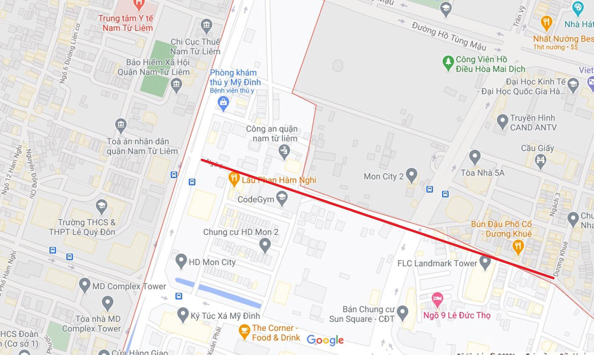 Ba đường sẽ mở theo qui hoạch ở phường Mỹ Đình 2, Nam Từ Liêm, Hà Nội (phần 2) - Ảnh 2.