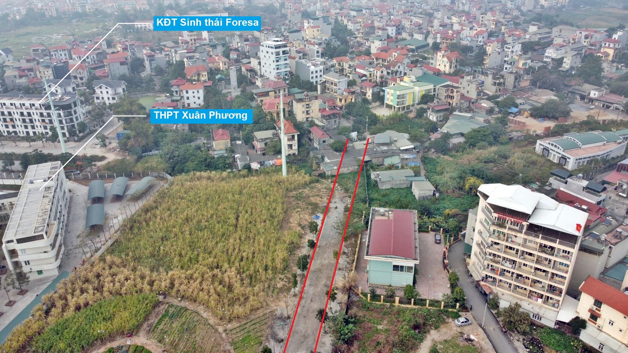 Ba đường sẽ mở theo qui hoạch ở phường Xuân Phương, Nam Từ Liêm, Hà Nội (phần 2) - Ảnh 5.