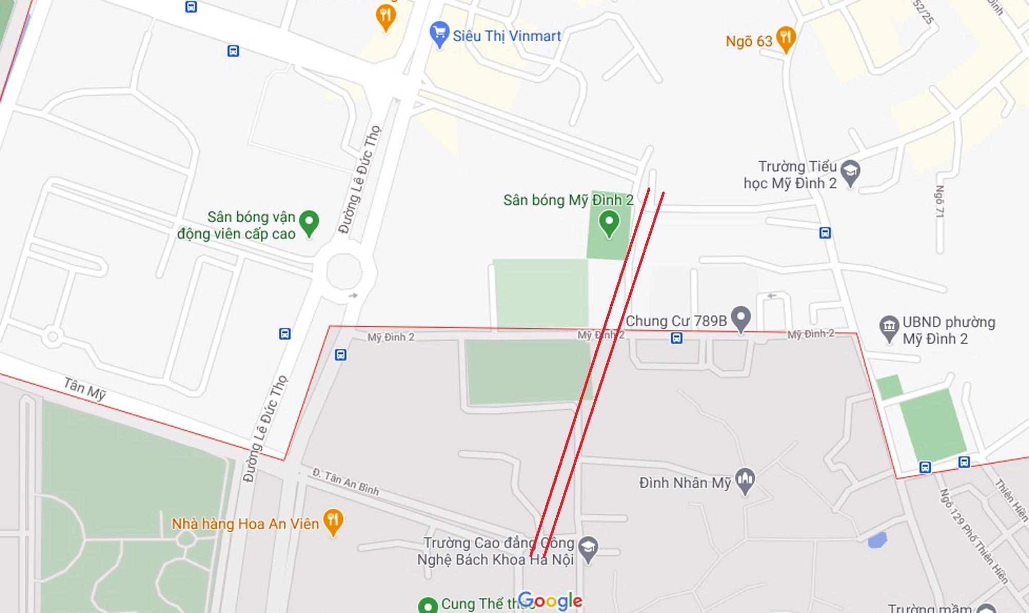 Ba đường sẽ mở theo qui hoạch ở phường Mỹ Đình 2, Nam Từ Liêm, Hà Nội (phần 2) - Ảnh 6.
