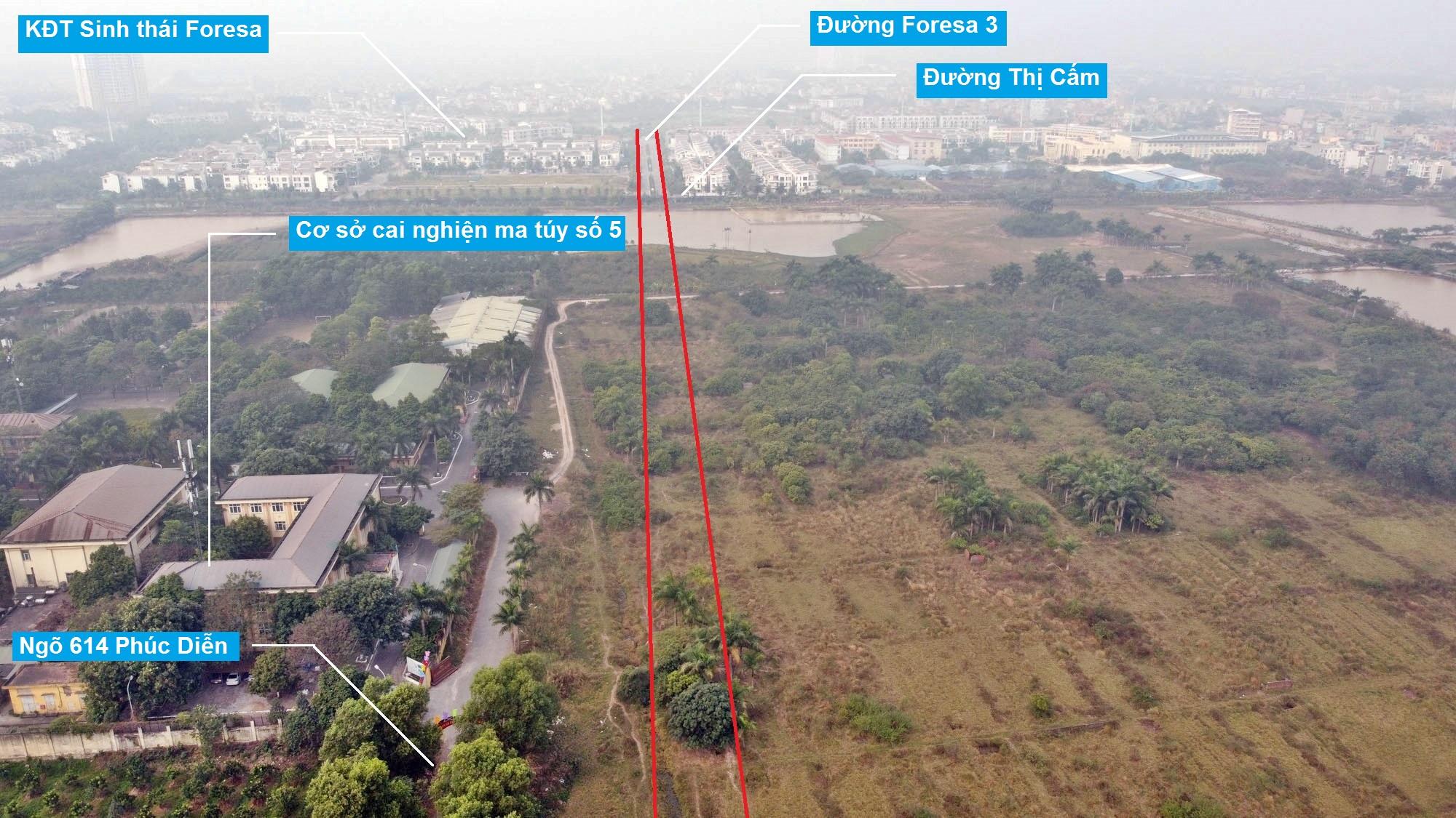 Ba đường sẽ mở theo qui hoạch ở phường Xuân Phương, Nam Từ Liêm, Hà Nội (phần 2) - Ảnh 11.