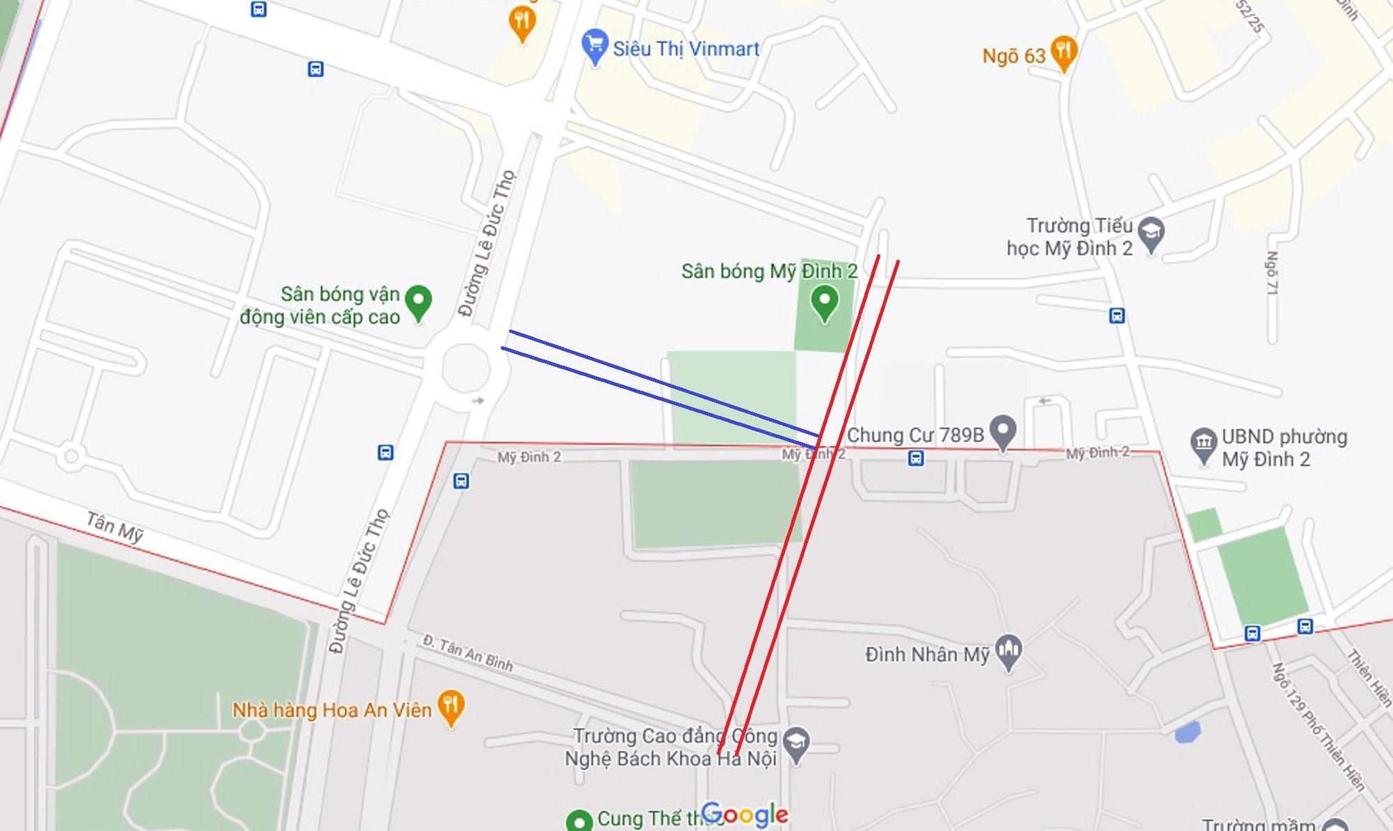 Ba đường sẽ mở theo qui hoạch ở phường Mỹ Đình 2, Nam Từ Liêm, Hà Nội (phần 2) - Ảnh 10.