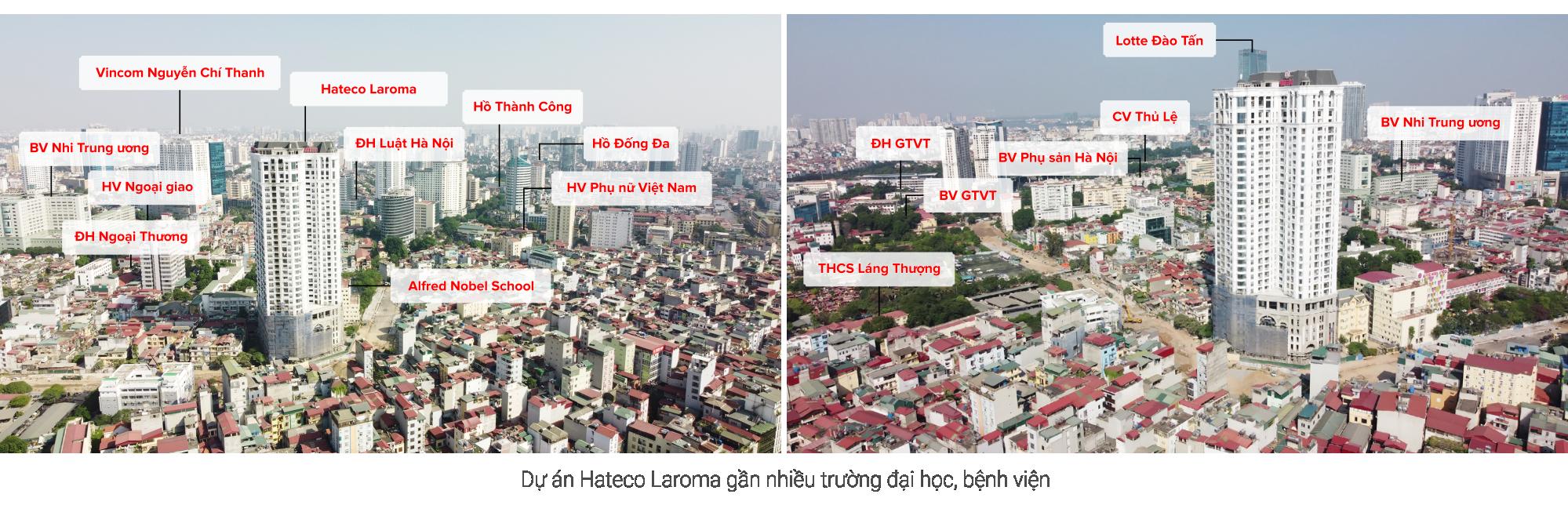 Review dự án Hateco Laroma đang mở bán: Mặt tiền đường 30 m đang mở ở nội đô Hà Nội - Ảnh 8.