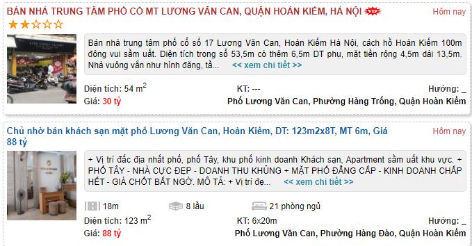 Giá đất phố Lương Văn Can, Hoàn Kiếm, Hà Nội - Ảnh 5.