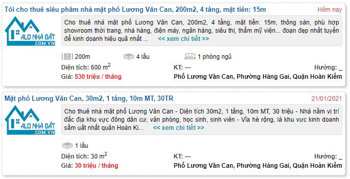 Giá đất phố Lương Văn Can, Hoàn Kiếm, Hà Nội - Ảnh 7.