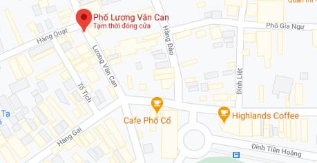 Giá đất phố Lương Văn Can, Hoàn Kiếm, Hà Nội - Ảnh 1.