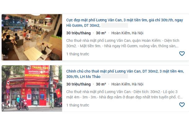 Giá đất phố Lương Văn Can, Hoàn Kiếm, Hà Nội - Ảnh 6.