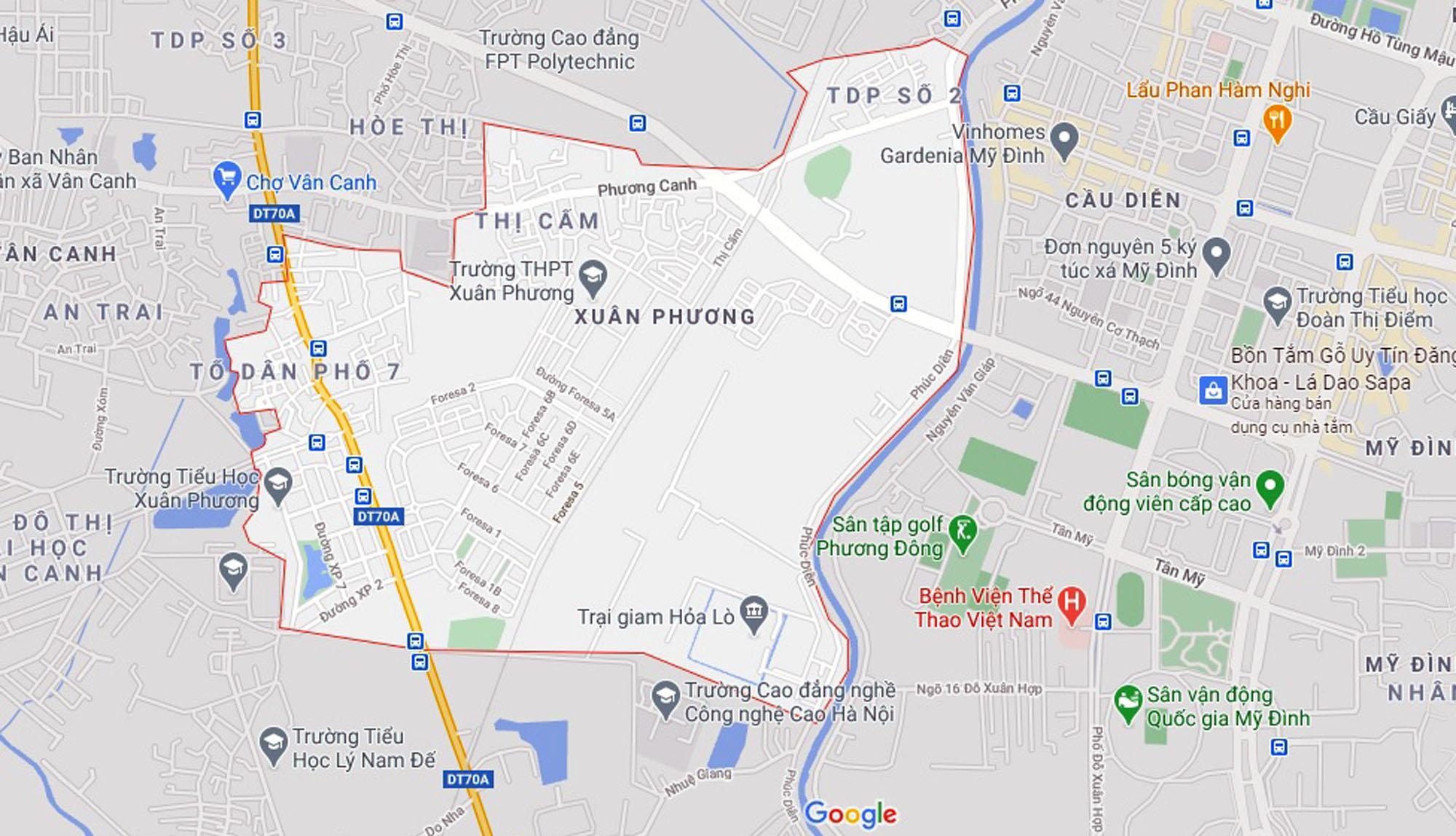 Ba đường sẽ mở theo qui hoạch ở phường Xuân Phương, Nam Từ Liêm, Hà Nội (phần 2) - Ảnh 1.