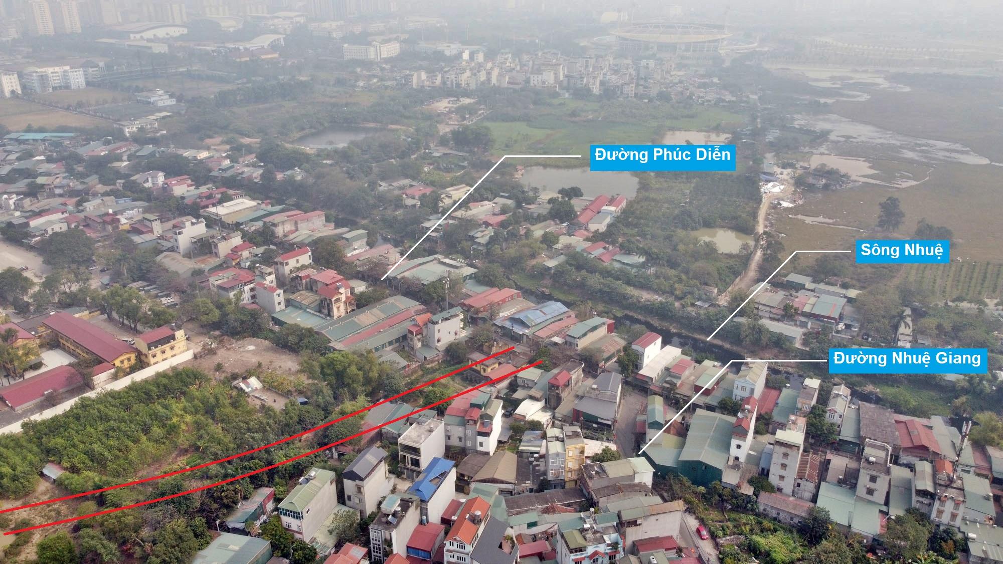 Ba đường sẽ mở theo qui hoạch ở phường Tây Mỗ, Nam Từ Liêm, Hà Nội (phần 2) - Ảnh 3.