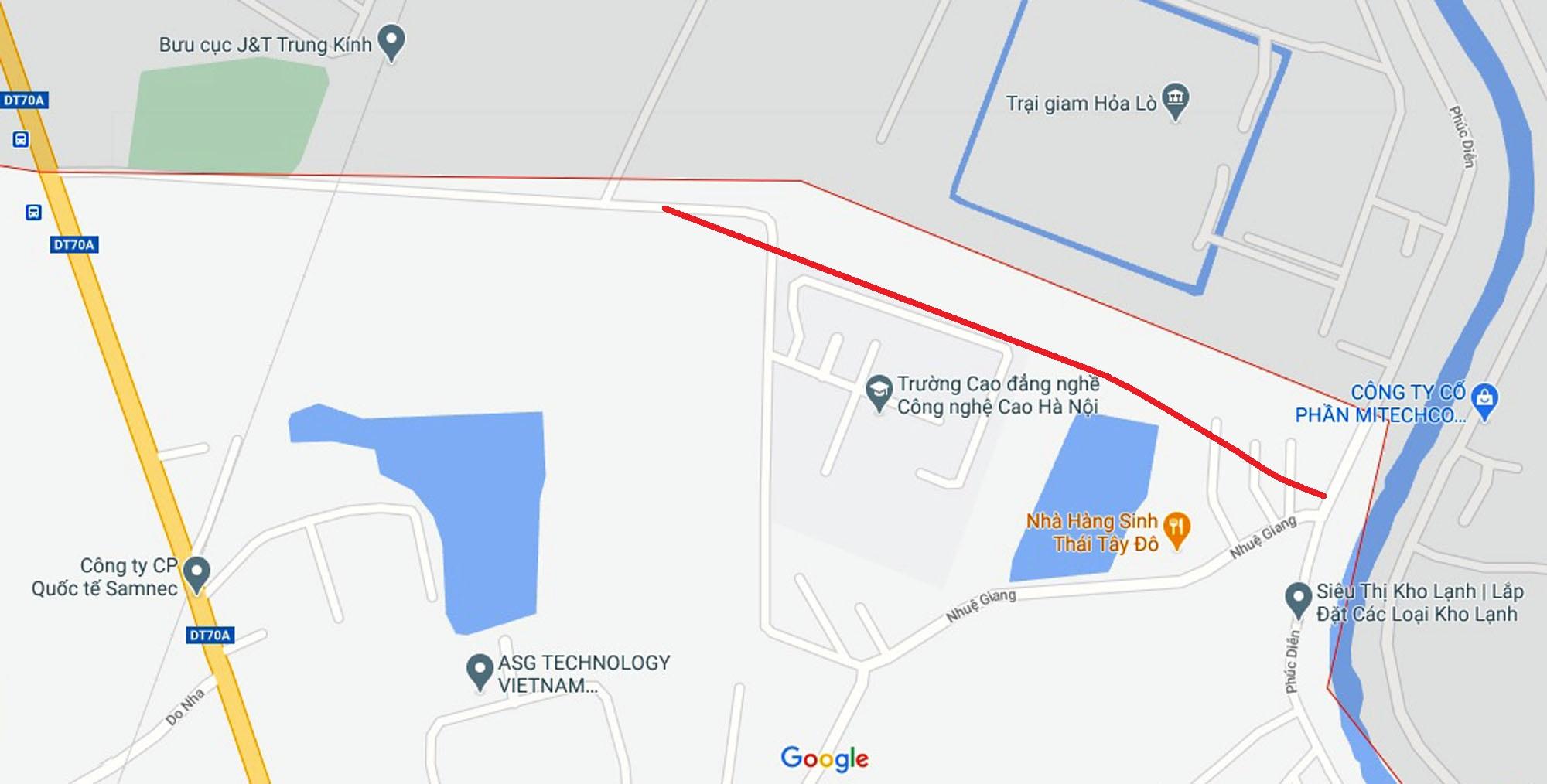 Ba đường sẽ mở theo qui hoạch ở phường Tây Mỗ, Nam Từ Liêm, Hà Nội (phần 2) - Ảnh 2.