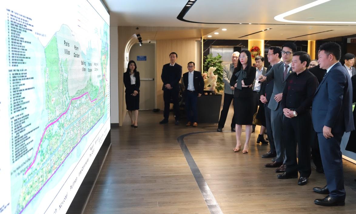 Tập đoàn Tân Á Đại Thành đề xuất tài trợ lập quy hoạch một dự án đô thị tại Quảng Ngãi. (Ảnh: Tân Á Đại Thành).