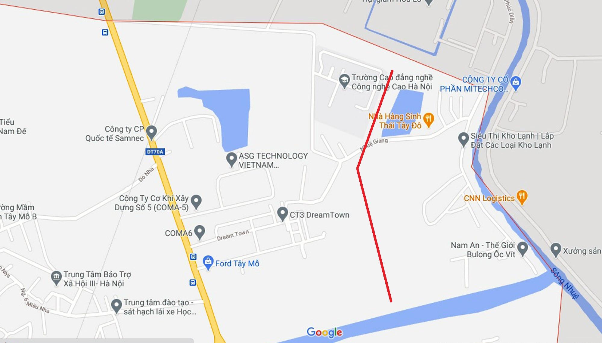 Ba đường sẽ mở theo qui hoạch ở phường Tây Mỗ, Nam Từ Liêm, Hà Nội (phần 2) - Ảnh 6.