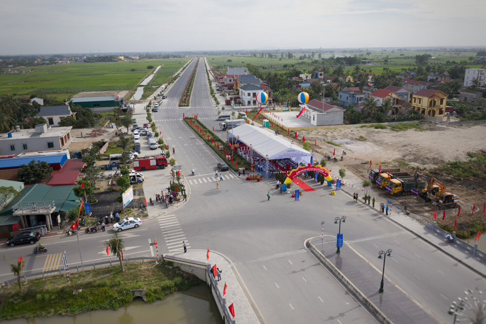 Đấu thầu 2 gói xây lắp dự án đường nối cầu Lạng Am đến đường ven biển ở Hải Phòng  - Ảnh 1.