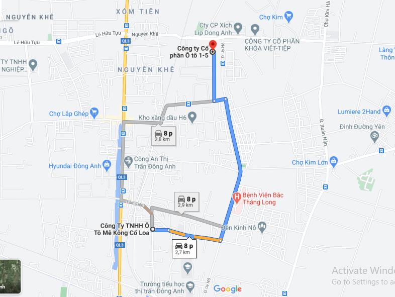 Giá đất trục đường từ nhà máy ô tô 1-5 đi nhà máy ô tô Cổ Loa, Đông Anh, Hà Nội  - Ảnh 1.