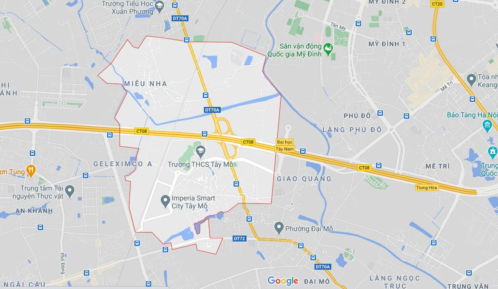 Ba đường sẽ mở theo qui hoạch ở phường Tây Mỗ, Nam Từ Liêm, Hà Nội (phần 2) - Ảnh 1.