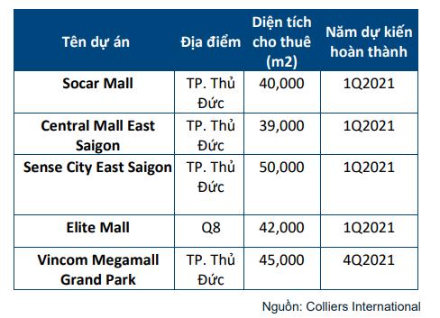 430.000 m2 diện tích bán lẻ sẽ đổ bộ thị trường TP HCM năm 2021 - Ảnh 2.