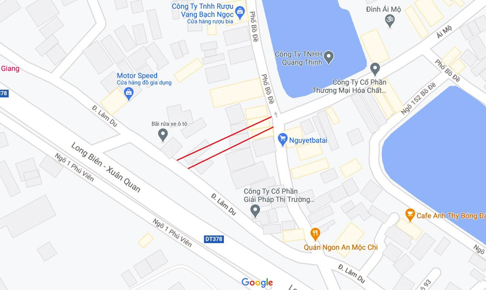 Ba đường sẽ mở theo qui hoạch ở phường Bồ Đề, Long Biên, Hà Nội (phần 2) - Ảnh 2.