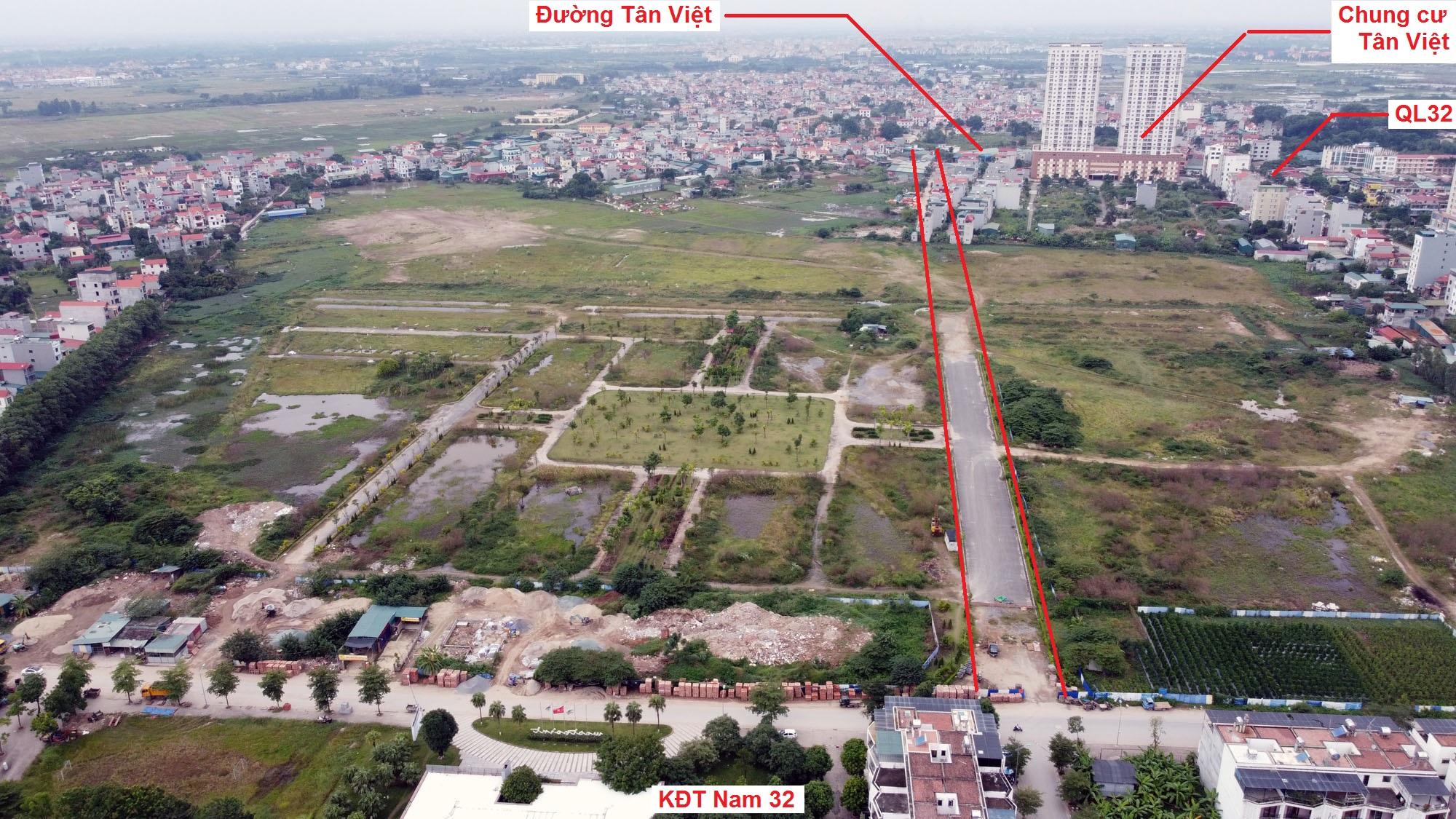 Ba đường sẽ mở theo quy hoạch ở xã Đức Giang, Hoài Đức, Hà Nội - Ảnh 3.