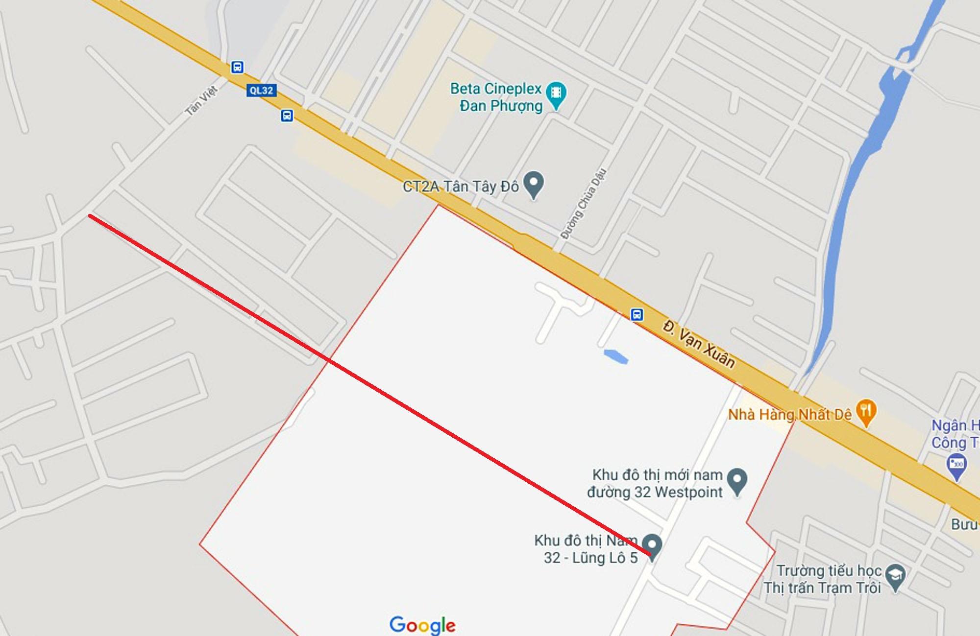 Ba đường sẽ mở theo quy hoạch ở xã Đức Giang, Hoài Đức, Hà Nội - Ảnh 2.
