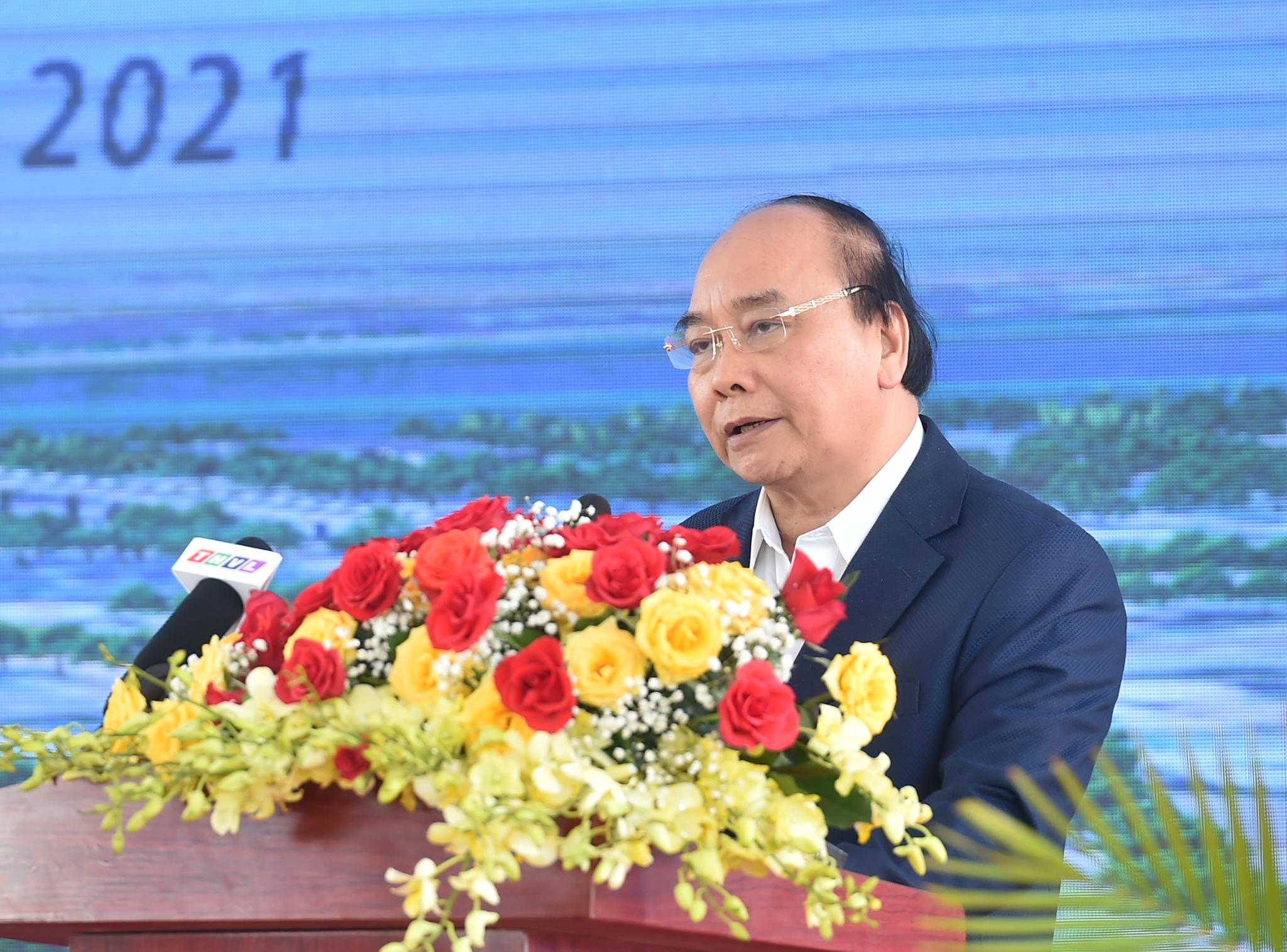 Cao tốc Mỹ Thuận - Cần Thơ đáp ứng nhu cầu 20 triệu dân chính thức khởi công - Ảnh 1.