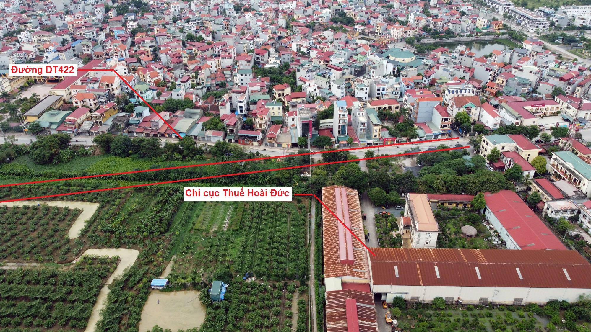 Ba đường sẽ mở theo quy hoạch ở xã Đức Giang, Hoài Đức, Hà Nội - Ảnh 5.