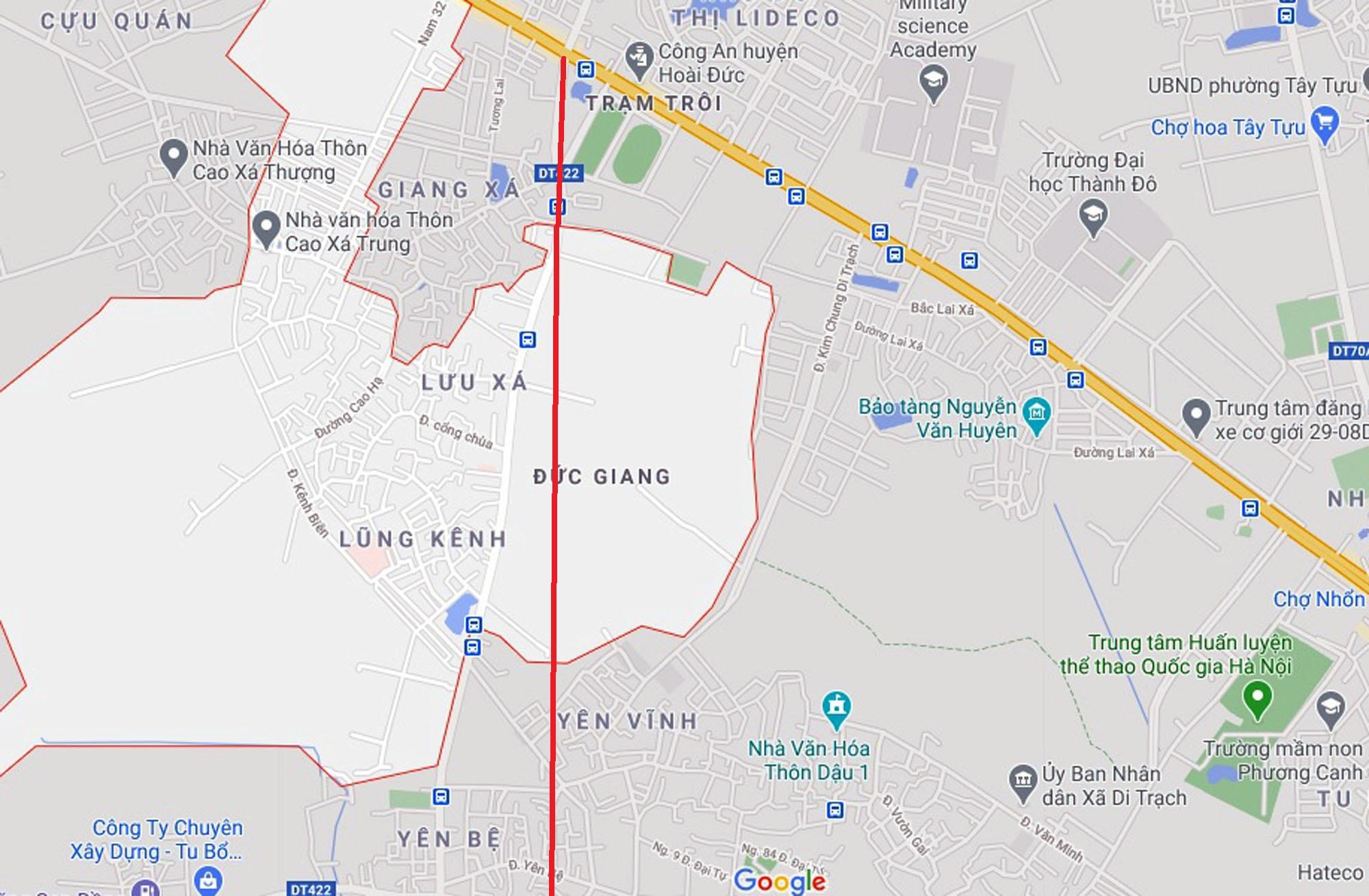 Ba đường sẽ mở theo quy hoạch ở xã Đức Giang, Hoài Đức, Hà Nội - Ảnh 4.