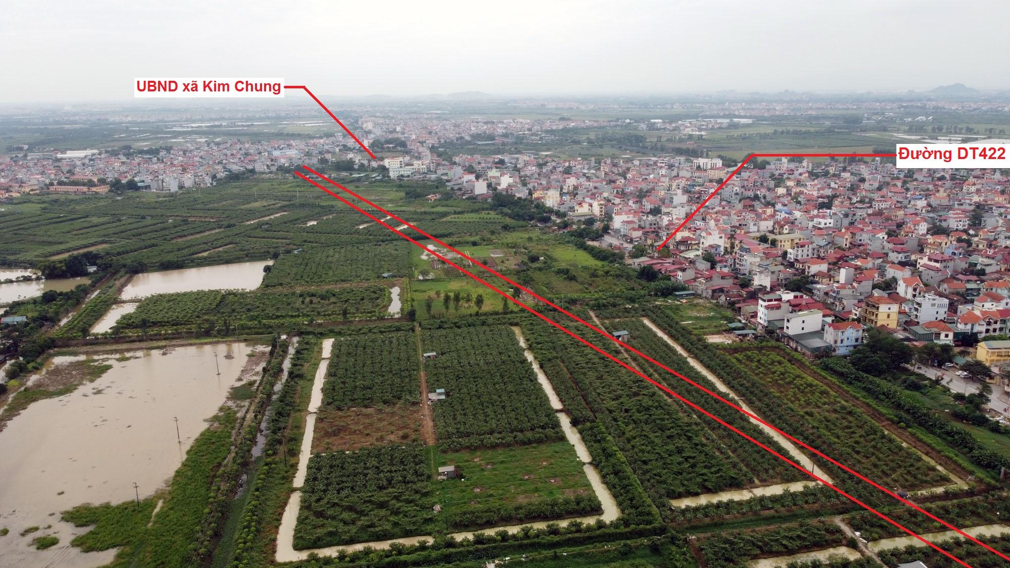 Ba đường sẽ mở theo quy hoạch ở xã Đức Giang, Hoài Đức, Hà Nội - Ảnh 6.