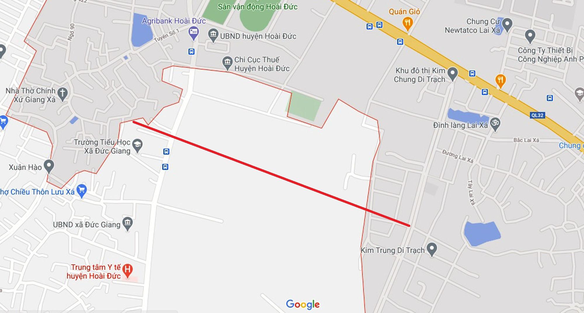 Ba đường sẽ mở theo quy hoạch ở xã Đức Giang, Hoài Đức, Hà Nội - Ảnh 8.