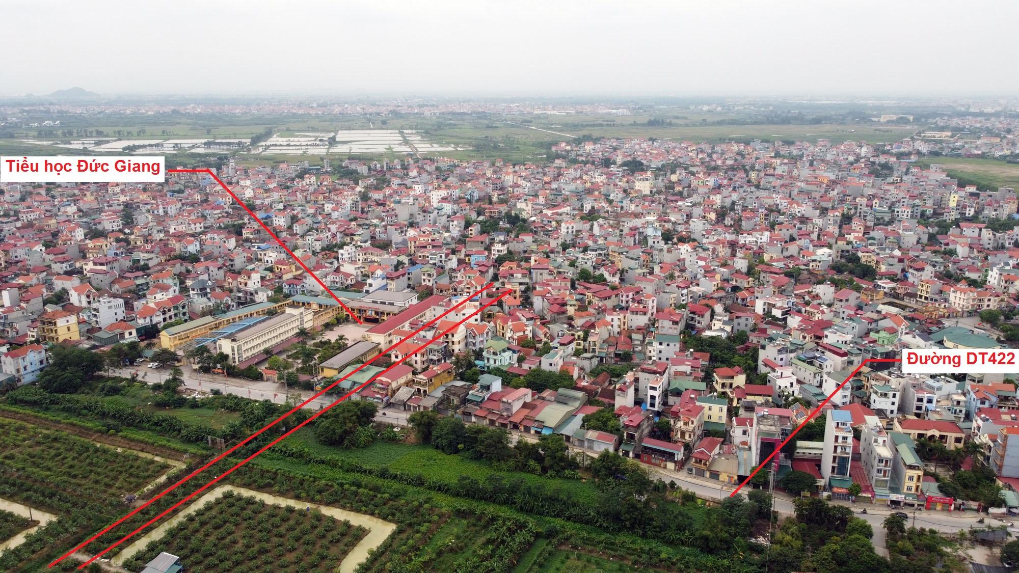 Ba đường sẽ mở theo quy hoạch ở xã Đức Giang, Hoài Đức, Hà Nội - Ảnh 10.
