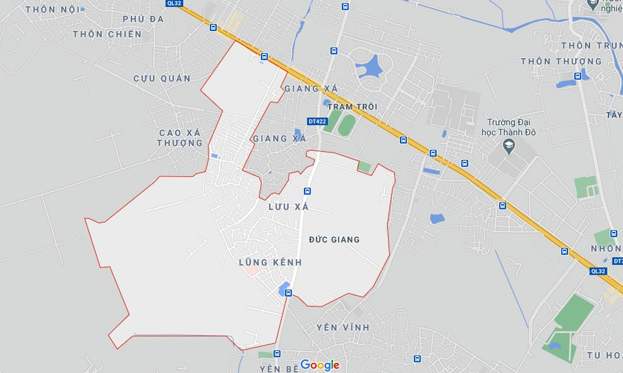 Ba đường sẽ mở theo quy hoạch ở xã Đức Giang, Hoài Đức, Hà Nội - Ảnh 1.