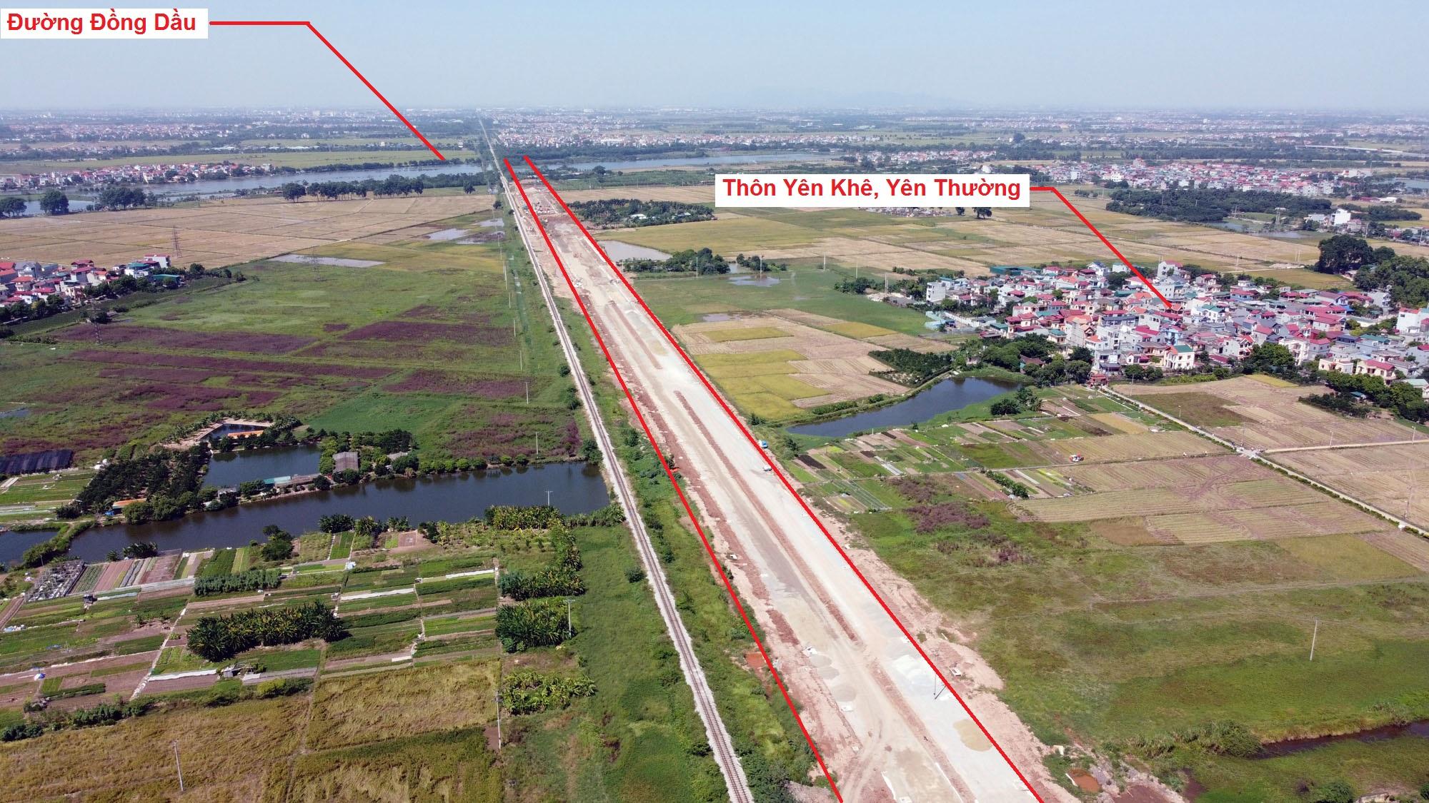 Ba đường sẽ mở theo quy hoạch ở xã Yên Thường, Gia Lâm, Hà Nội - Ảnh 3.