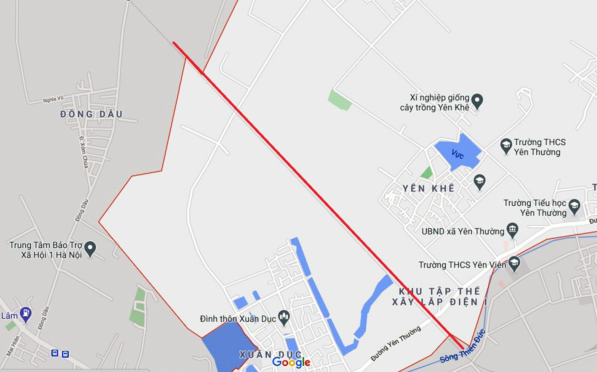 Ba đường sẽ mở theo quy hoạch ở xã Yên Thường, Gia Lâm, Hà Nội - Ảnh 2.
