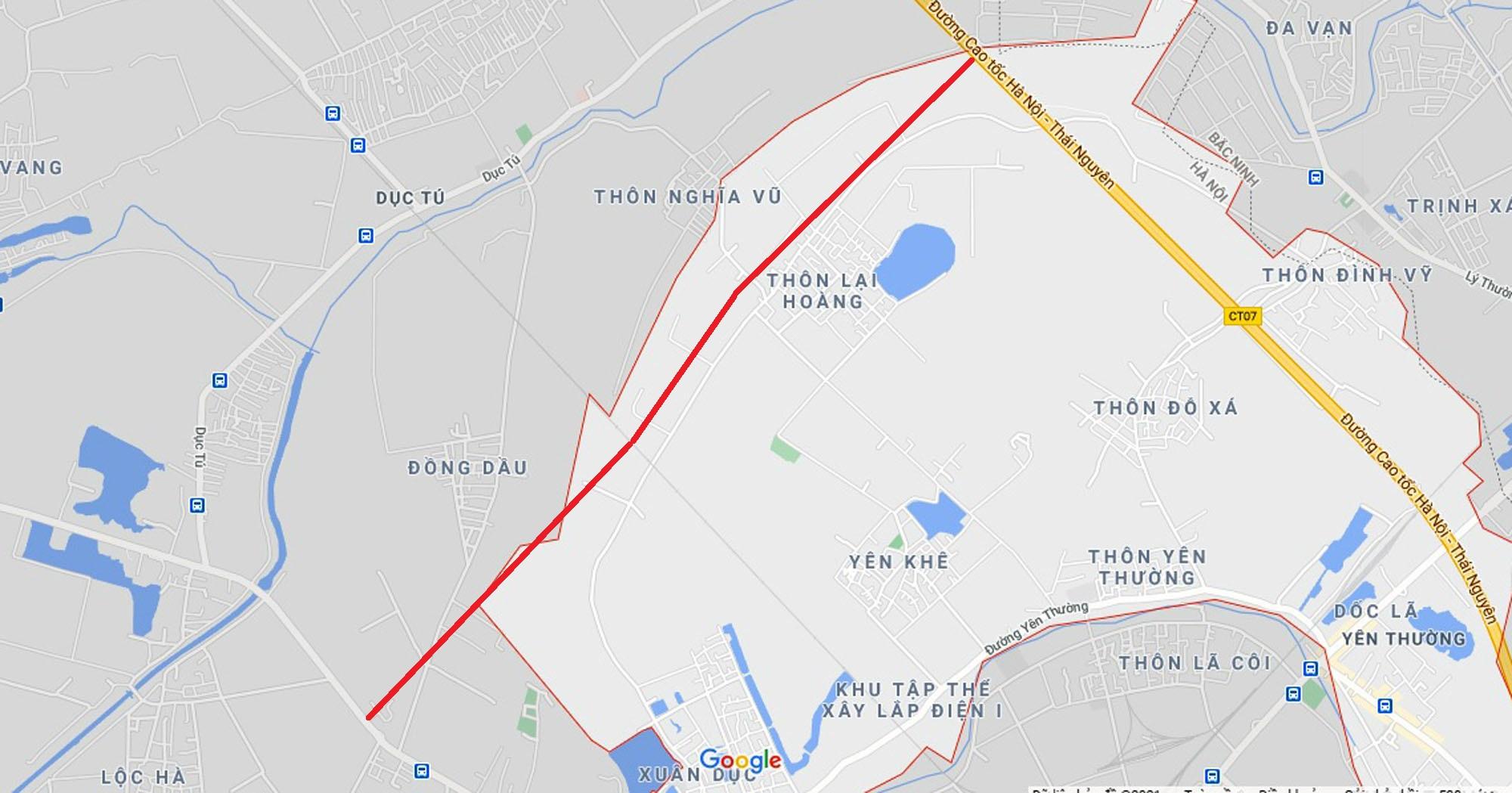 Ba đường sẽ mở theo quy hoạch ở xã Yên Thường, Gia Lâm, Hà Nội - Ảnh 7.