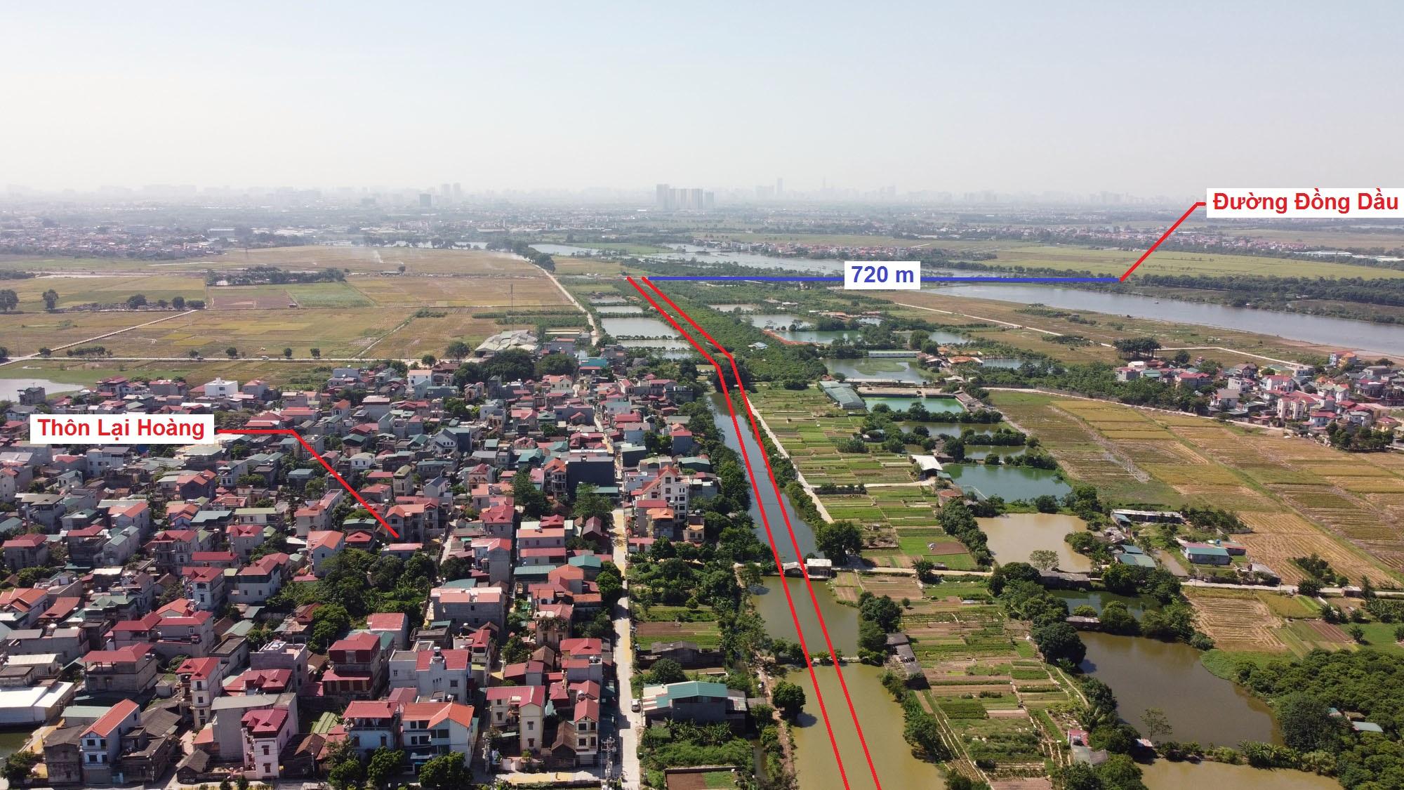 Ba đường sẽ mở theo quy hoạch ở xã Yên Thường, Gia Lâm, Hà Nội - Ảnh 9.