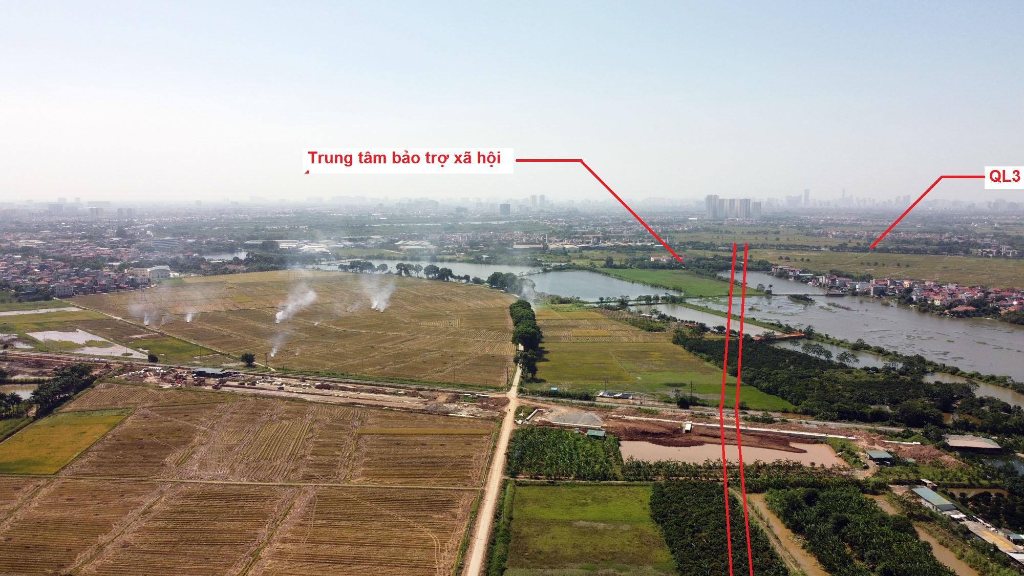 Ba đường sẽ mở theo quy hoạch ở xã Yên Thường, Gia Lâm, Hà Nội - Ảnh 10.