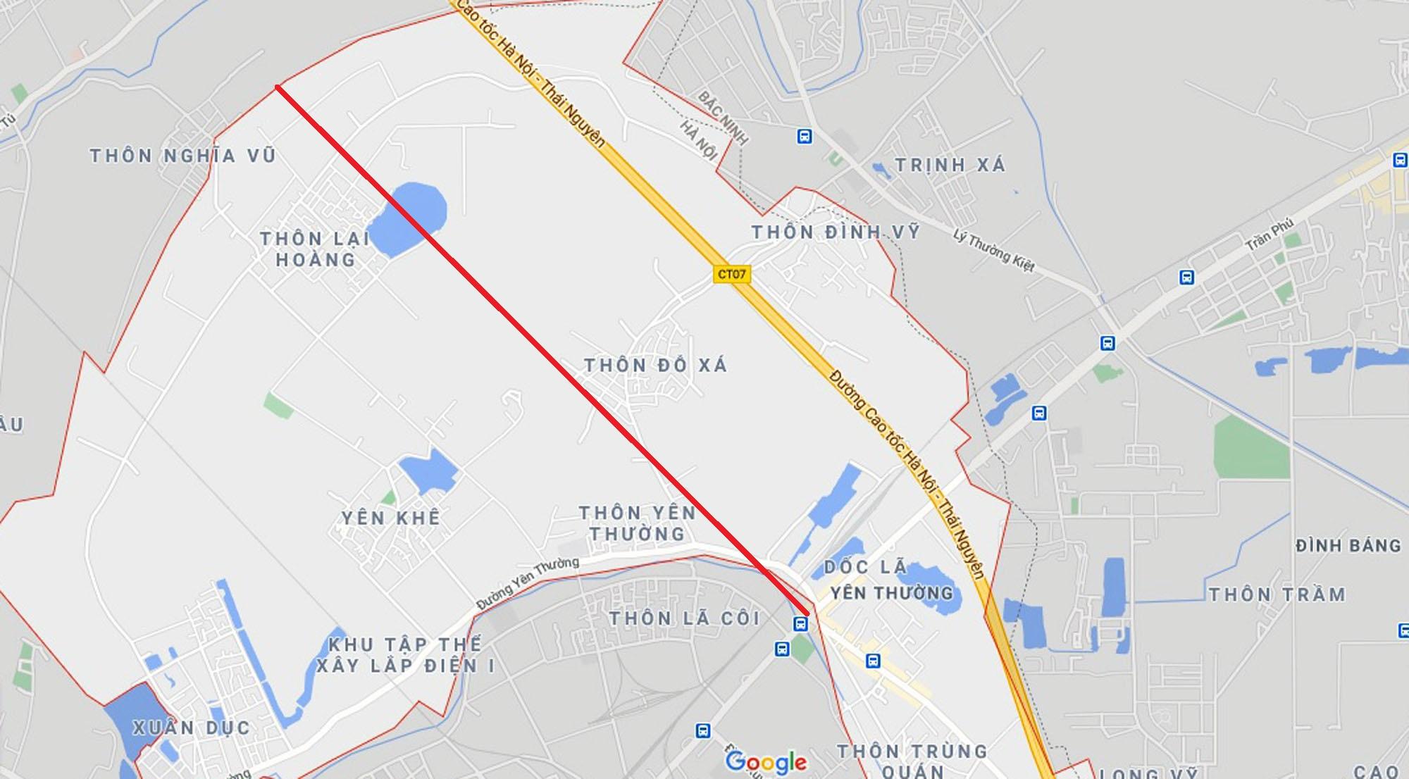 Ba đường sẽ mở theo quy hoạch ở xã Yên Thường, Gia Lâm, Hà Nội - Ảnh 11.